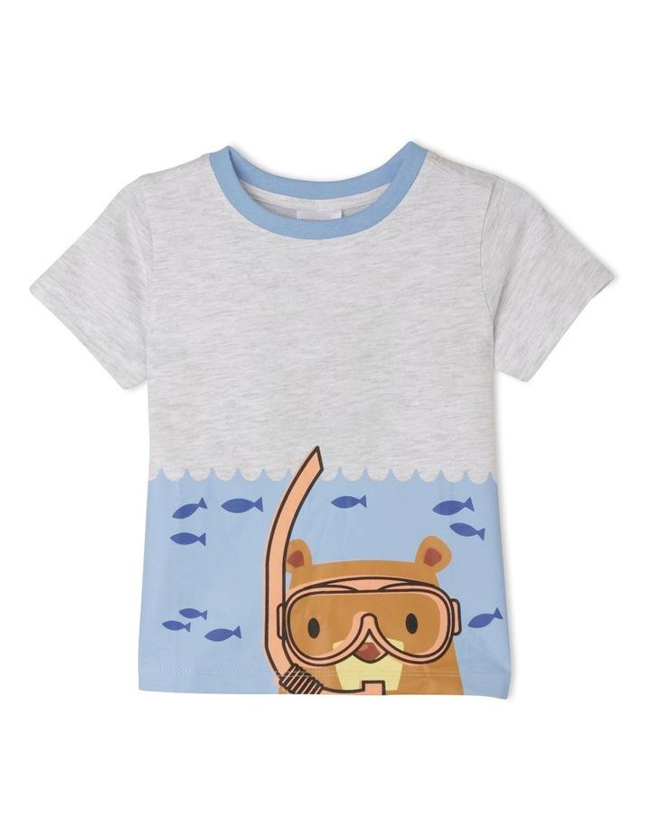 Boys Essential T/Shirt TBS19000-CW8 image 1