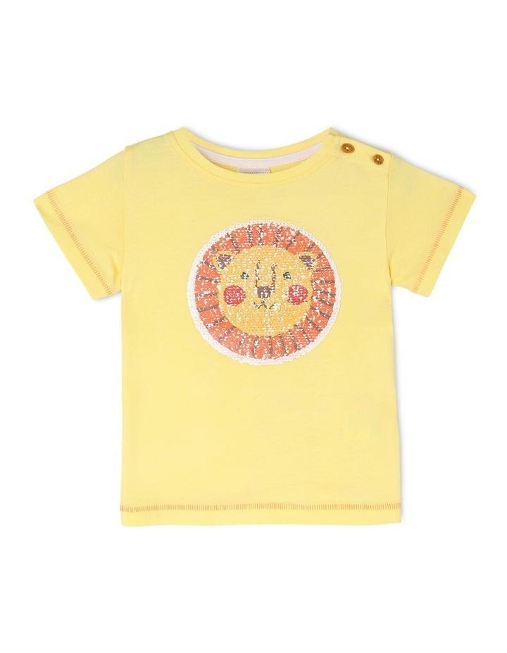 Sequin Lion T-Shirt image 1