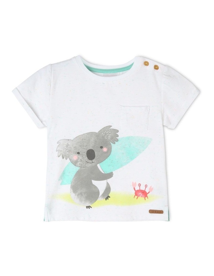Australiana Surfing Koala T-Shirt image 1