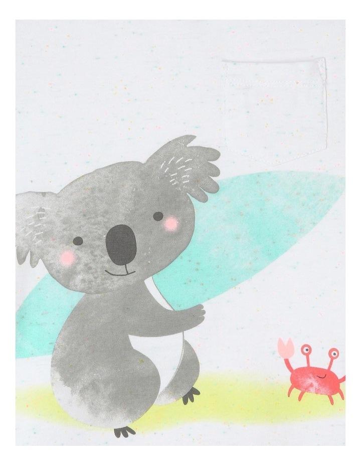 Australiana Surfing Koala T-Shirt image 2