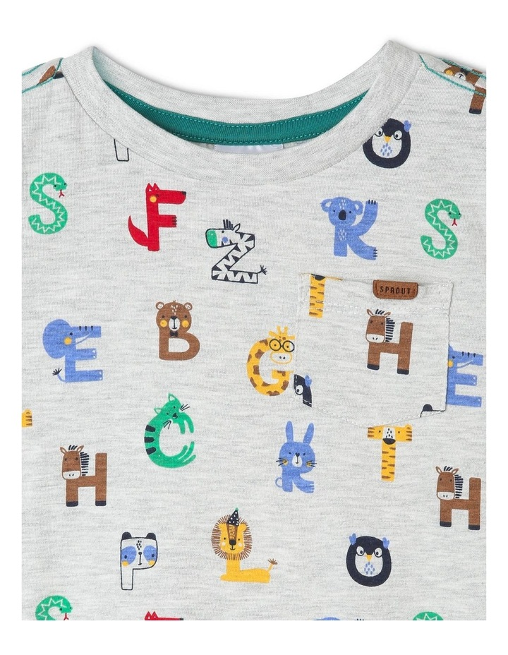 Long-Sleeve Alphabet T-Shirt image 2