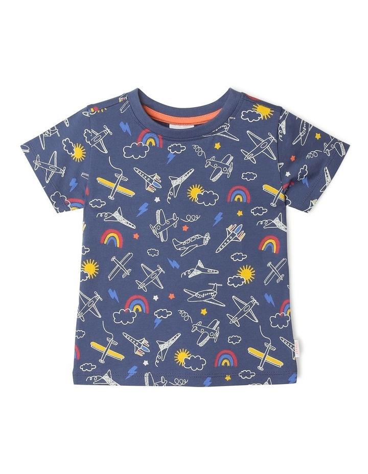 Essential Sky Hi All Over Print T-Shirt image 1