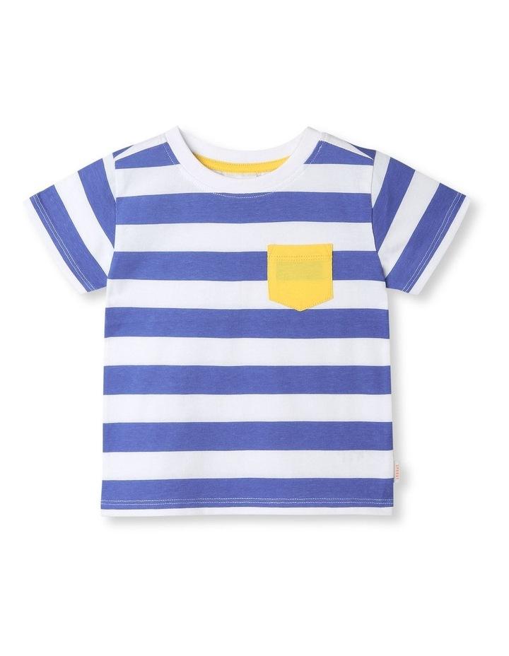 Essential Corny Stripe All Over Print T-Shirt image 1