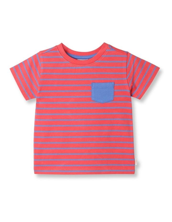 Essential Watermelon Yarn Dye T-Shirt image 1