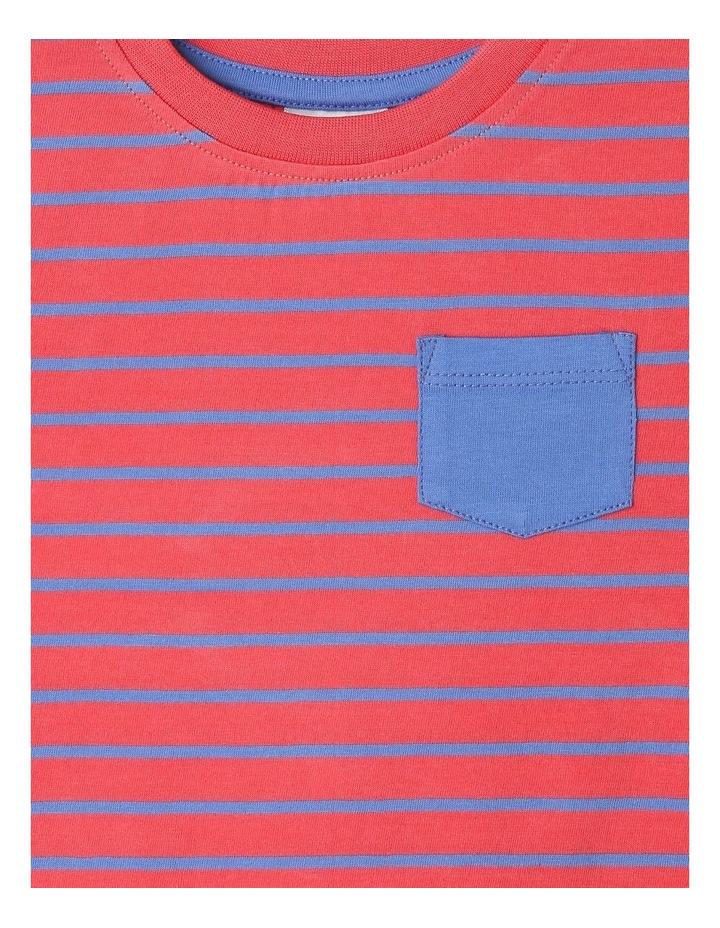 Essential Watermelon Yarn Dye T-Shirt image 2