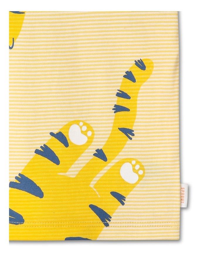 Essential Hey Tiger Print Yarn Dye T-Shirt image 3