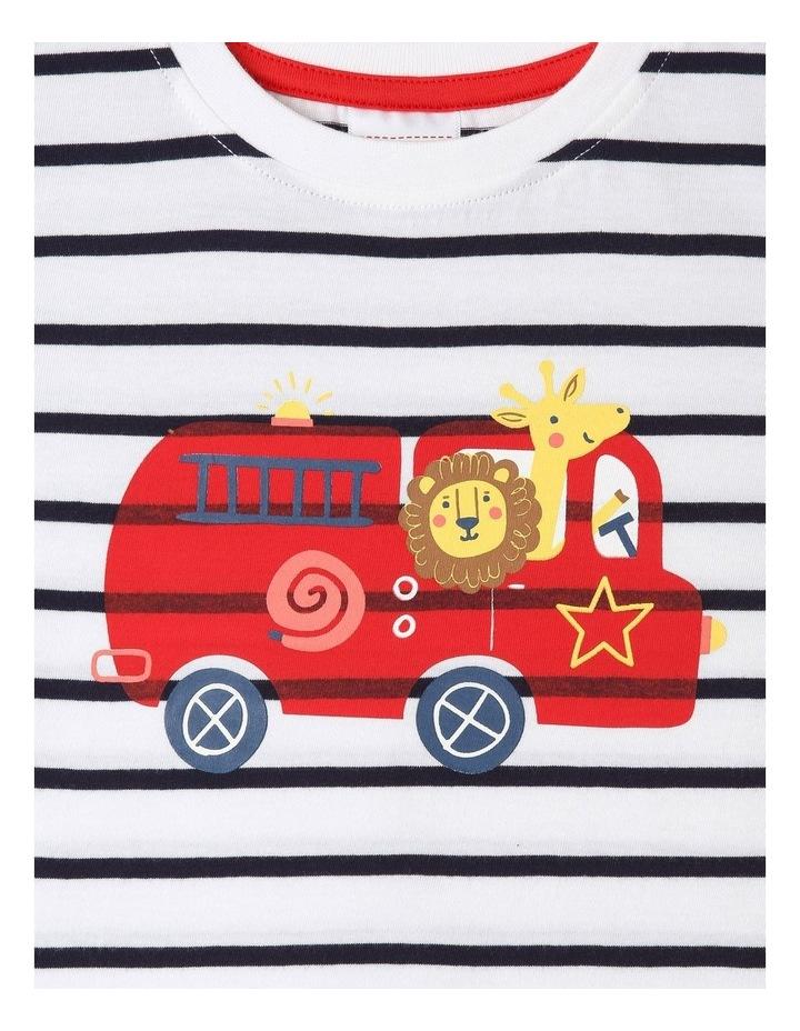 Essential Safari Engine Stripe Print T-Shirt image 2