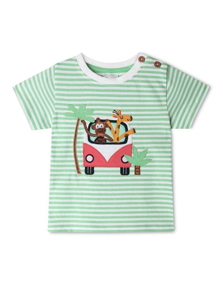 Jungle Roadtrip Stripe T-Shirt image 1