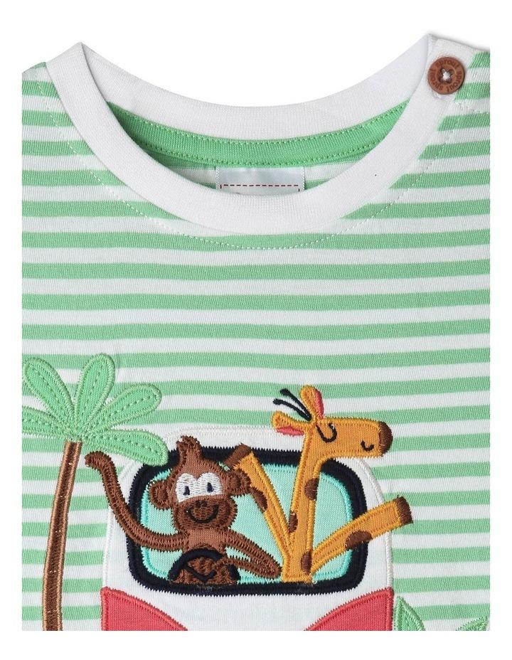 Jungle Roadtrip Stripe T-Shirt image 2