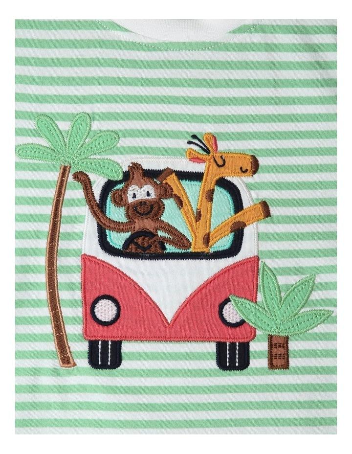 Jungle Roadtrip Stripe T-Shirt image 3