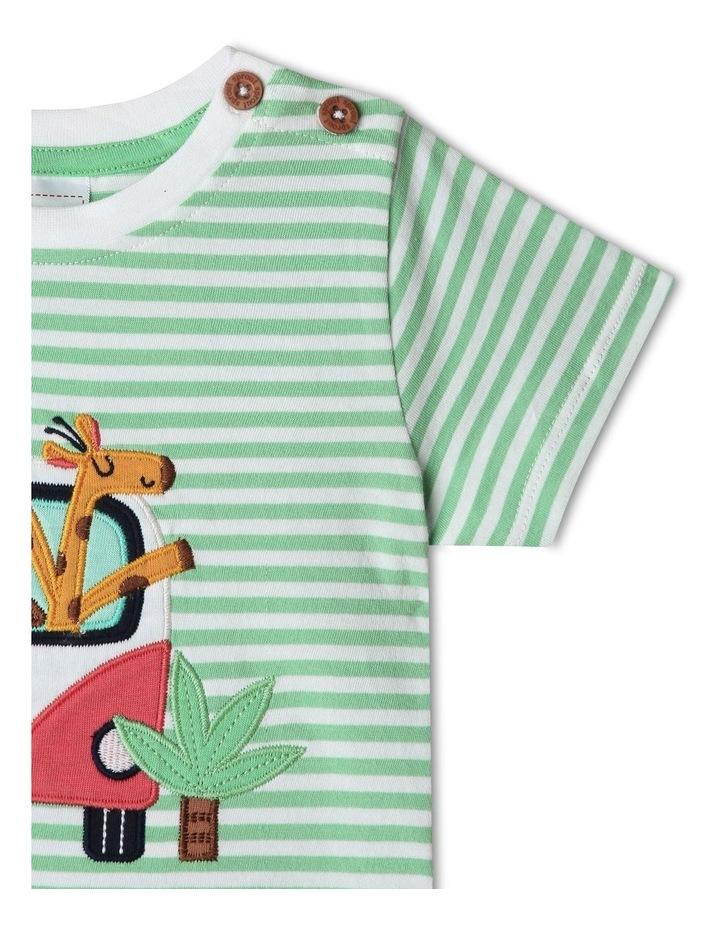 Jungle Roadtrip Stripe T-Shirt image 4