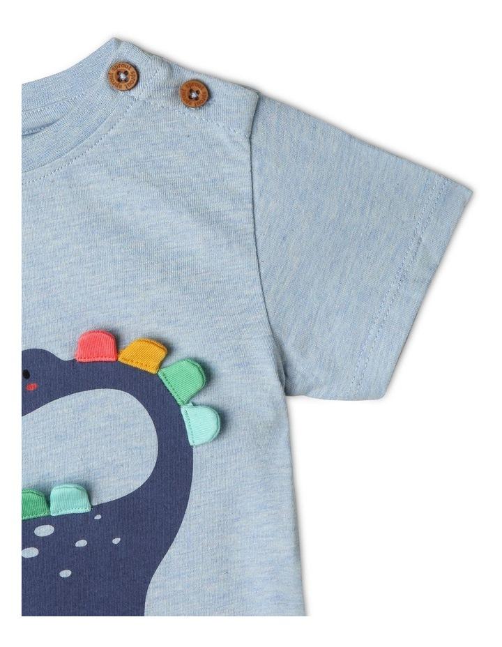 3D Diplosaurus T-Shirt image 4