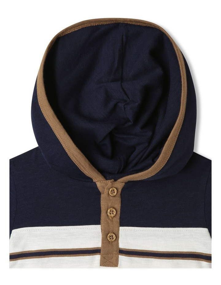 Hooded Henley T-Shirt image 2