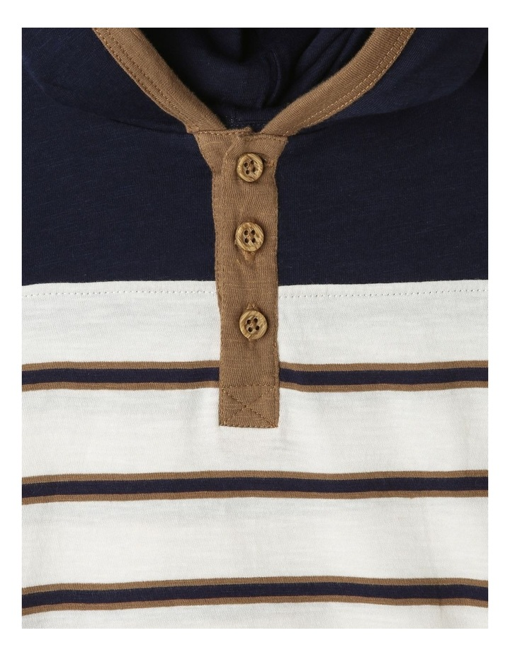 Hooded Henley T-Shirt image 3