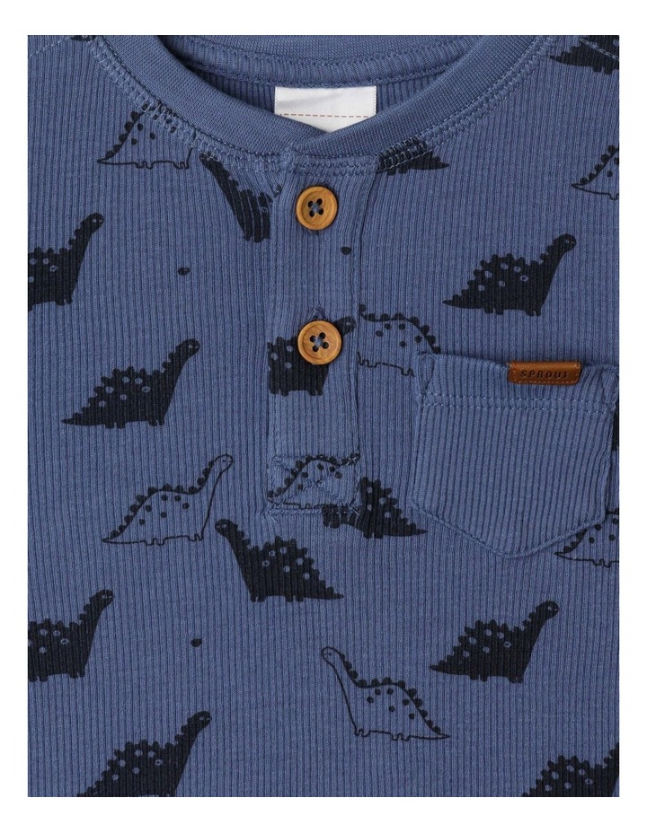 Luca Dino Rib Long Sleeve Top image 2