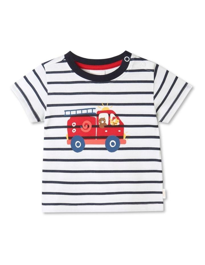 Essential Fire Engine Brilliant T-Shirt White image 1