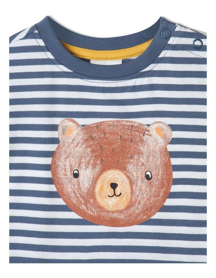 Essential Bear Face Bijou T-Shirt Blue image 2