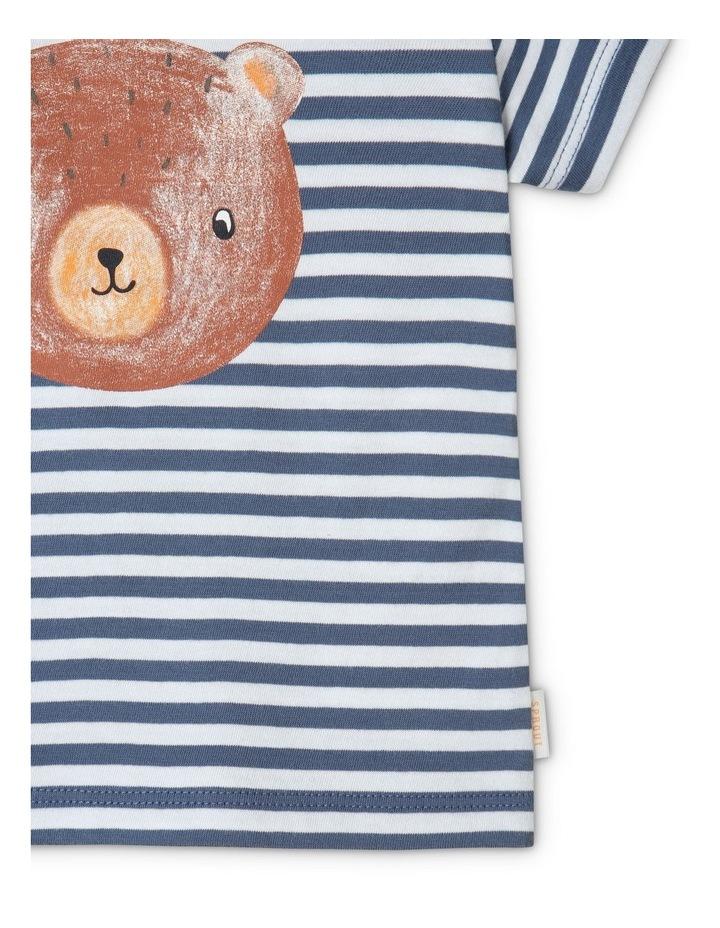 Essential Bear Face Bijou T-Shirt Blue image 4