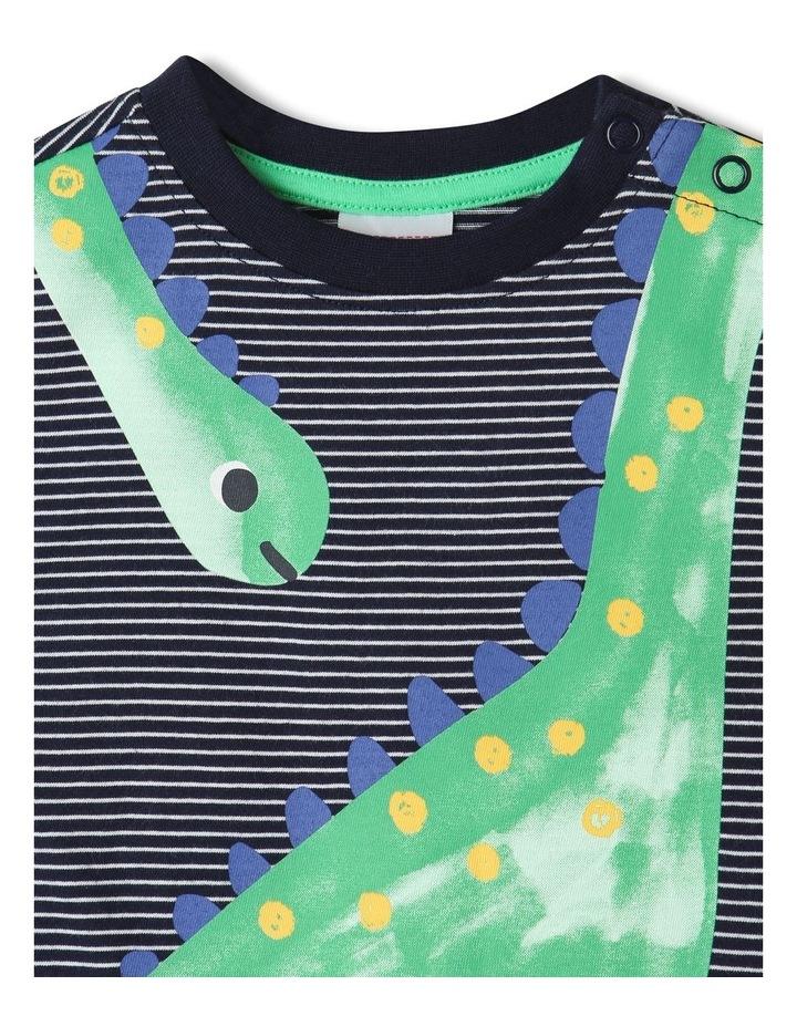 Essential Dino T-Shirt Midnight image 2