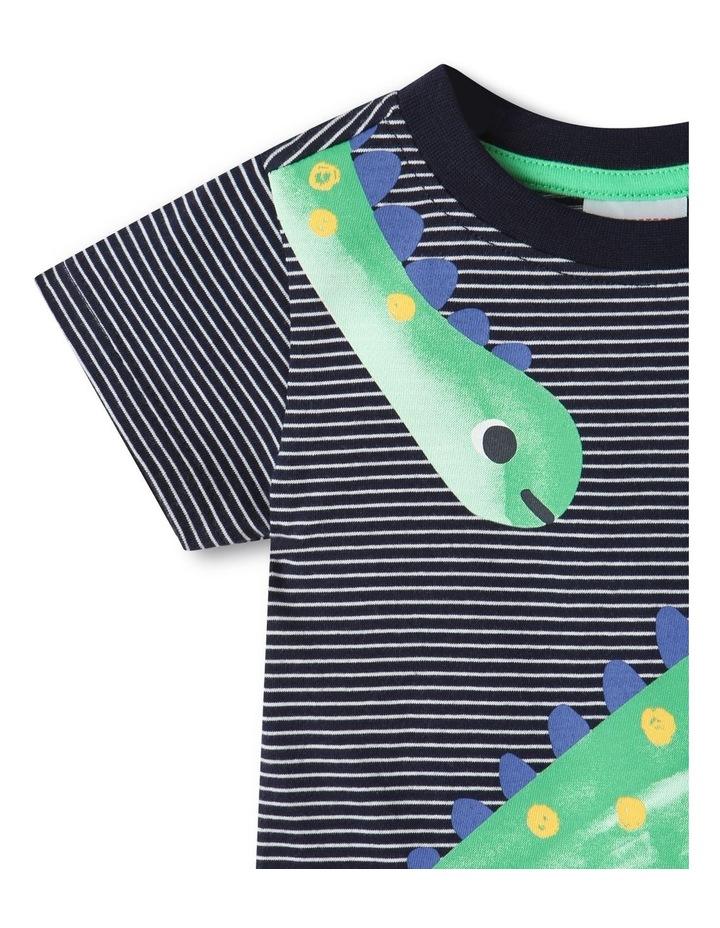 Essential Dino T-Shirt Midnight image 3
