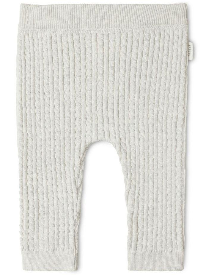 Organic Cable Knit Legging image 1