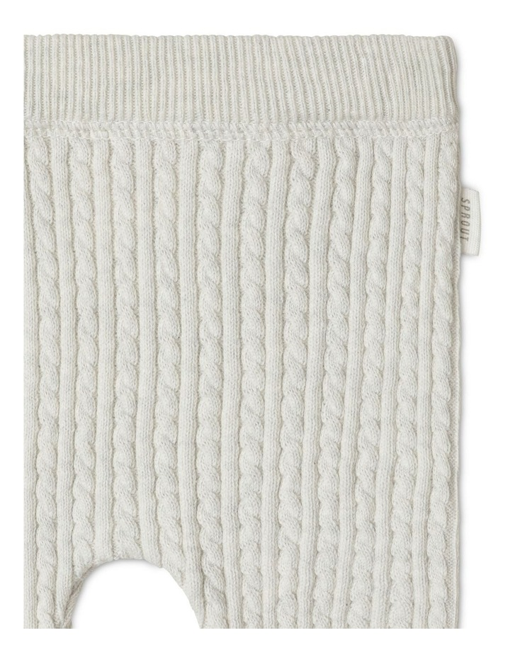 Organic Cable Knit Legging image 2