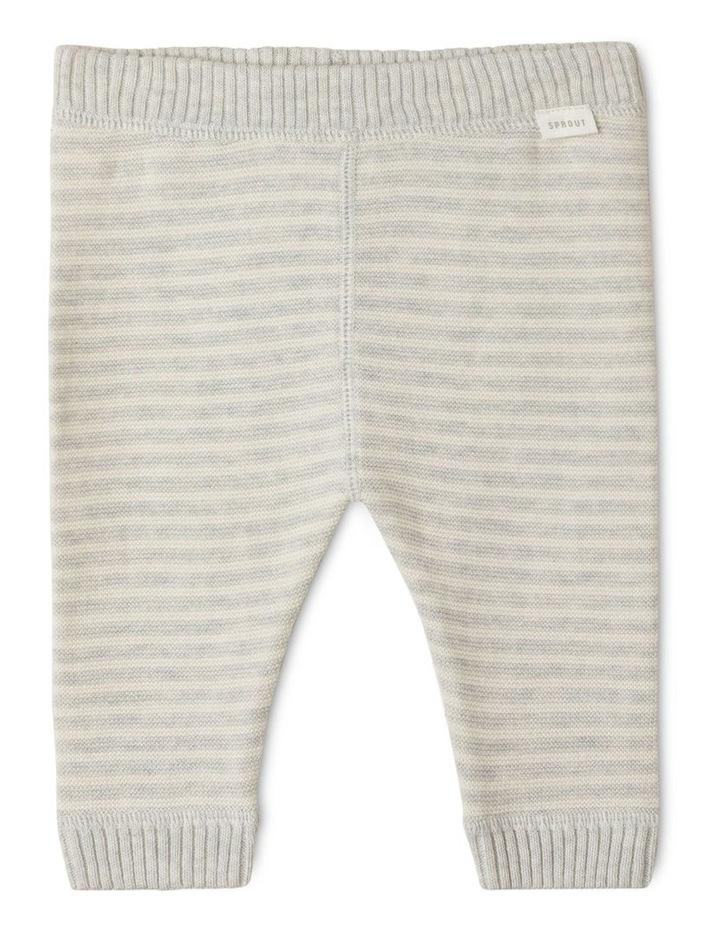 Organic Knit Legging Silver image 1