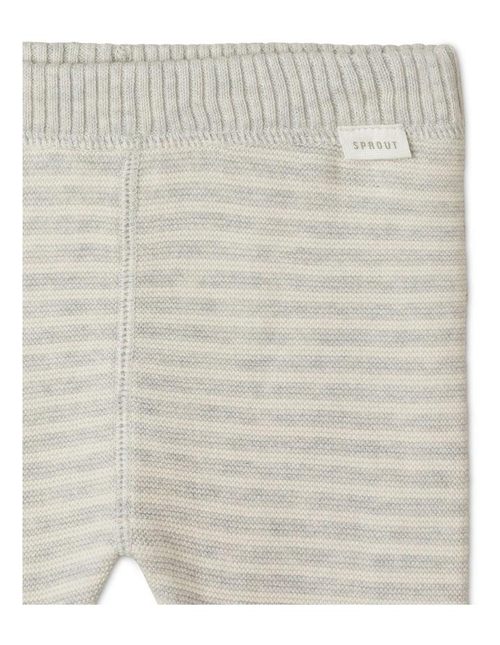 Organic Knit Legging Silver image 2
