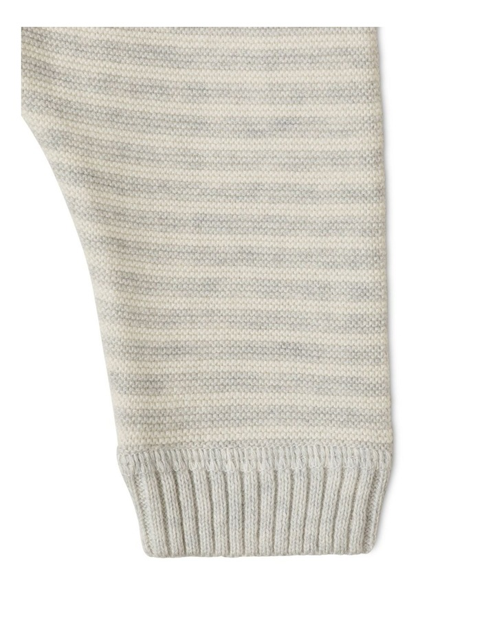 Organic Knit Legging Silver image 3