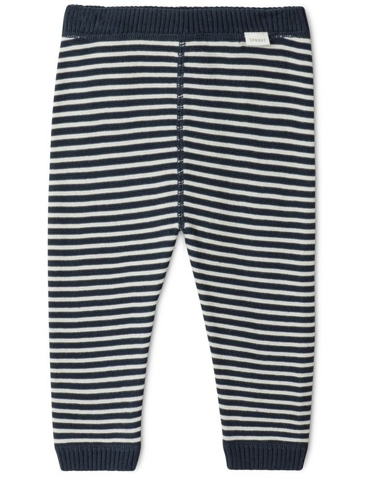 Organic Knit Legging Navy image 1