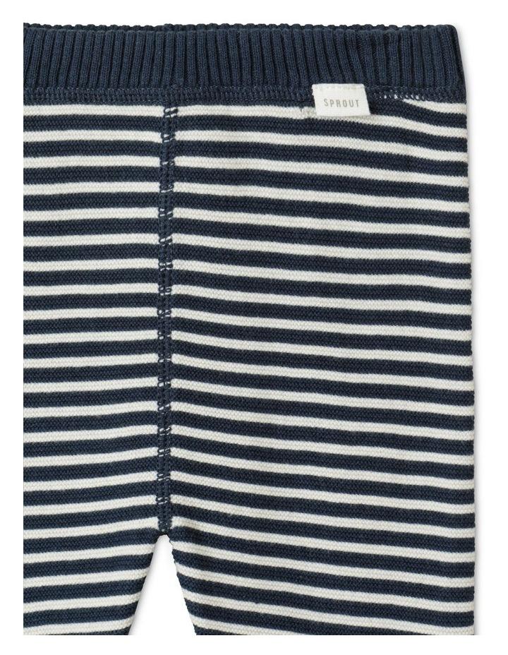 Organic Knit Legging Navy image 2