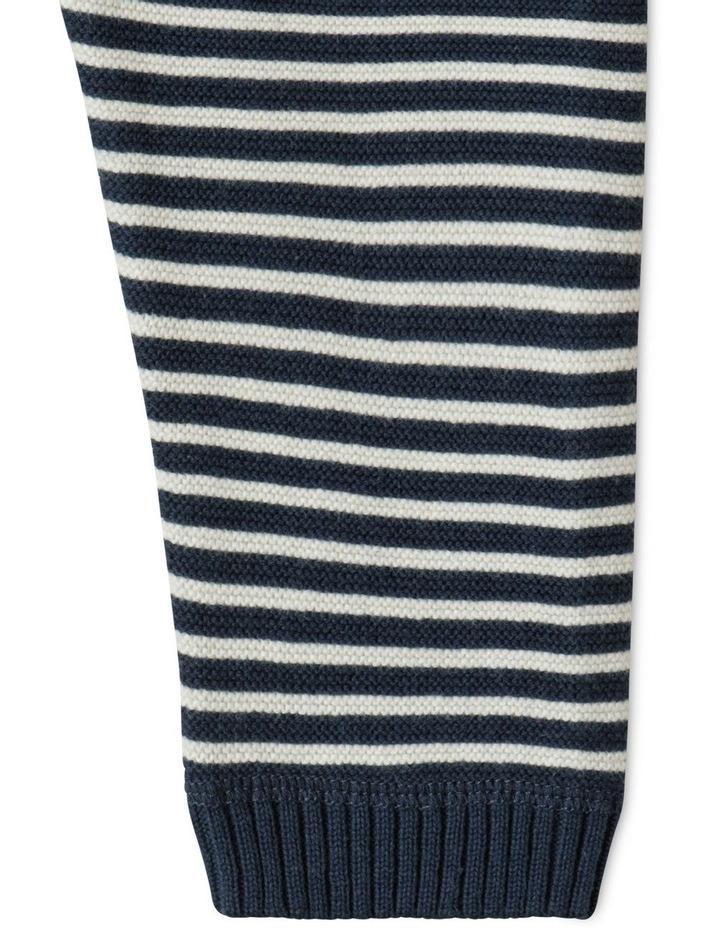 Organic Knit Legging Navy image 3