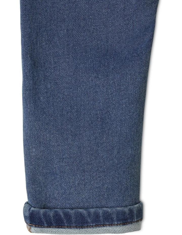 Damon Indigo Knit Denim Jean image 5