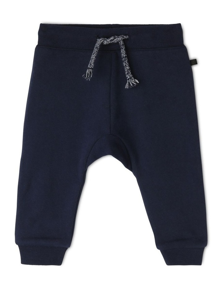 Essential Navy Trackpant image 1
