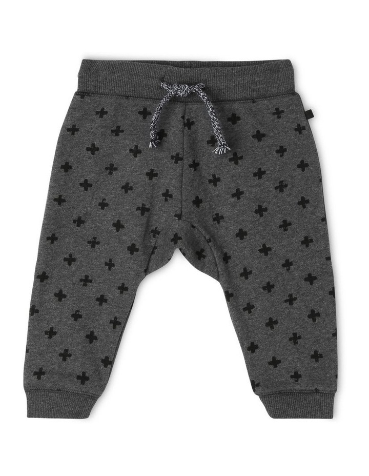 Essential Charcoal Track-Pant image 1