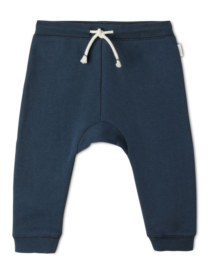 Organic Essential Solid Drawstring Trackpant image 1
