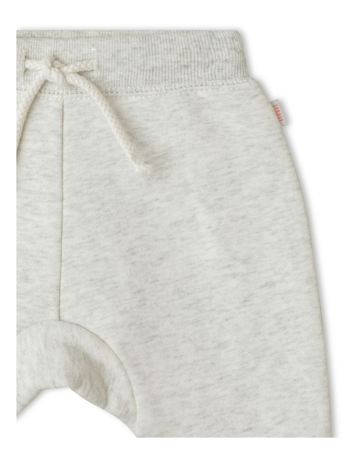Organic Essential Solid Drawstring Trackpant image 2