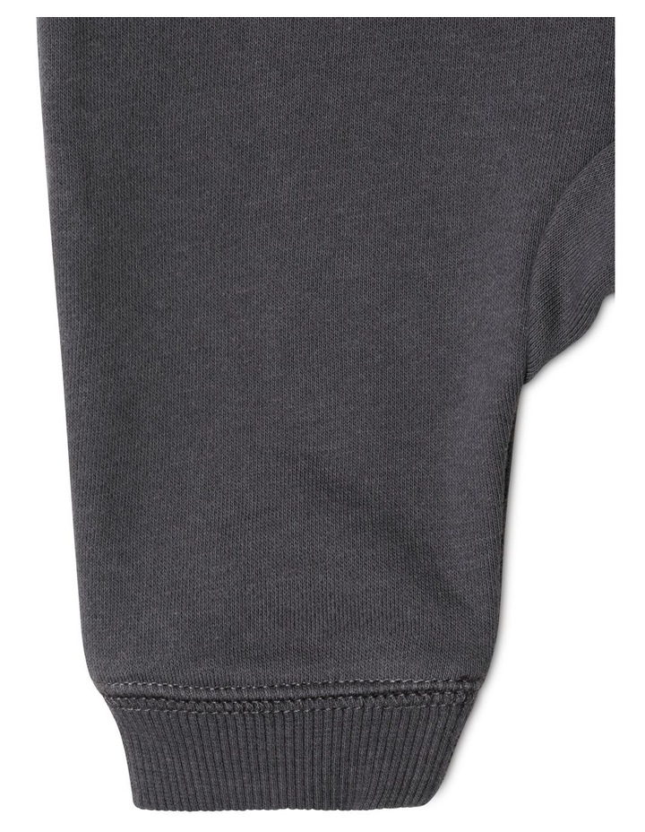 Organic Essential Solid Drawstring Trackpant image 3
