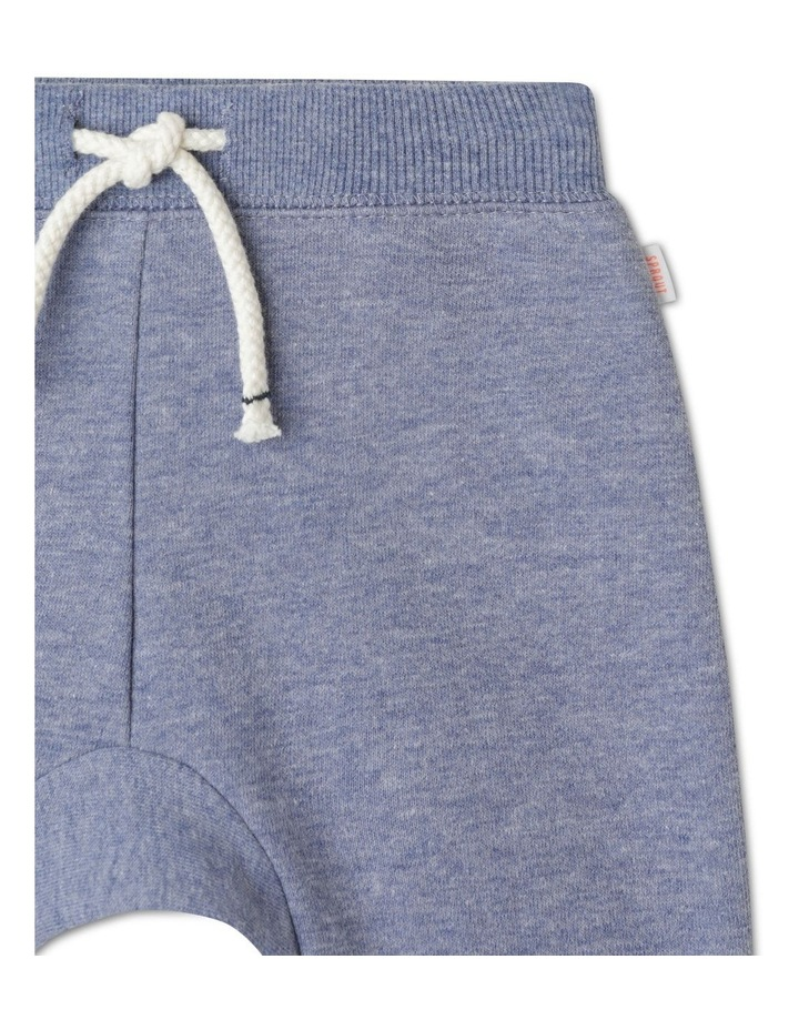Organic Essential Bear Face Knees Drawstring Trackpant image 2