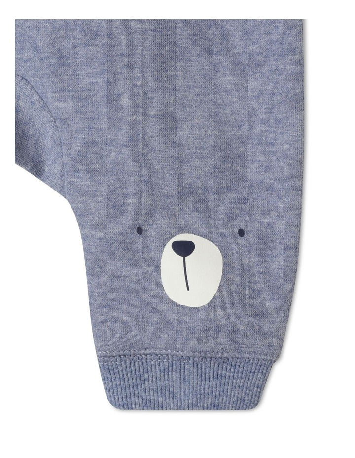 Organic Essential Bear Face Knees Drawstring Trackpant image 3