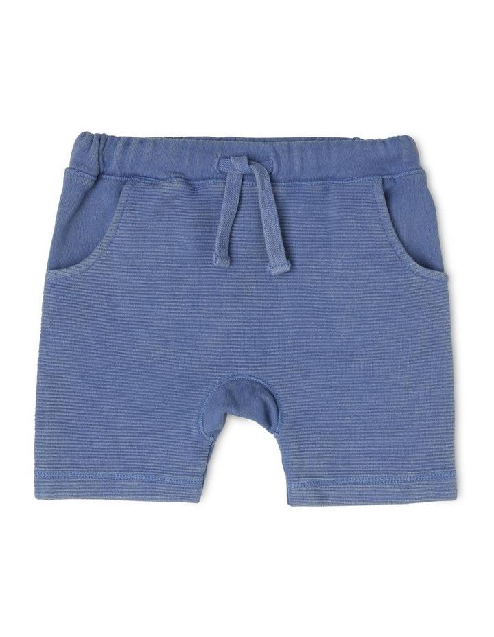 Boys Knit Ottoman Short With Kanga Pocket image 1