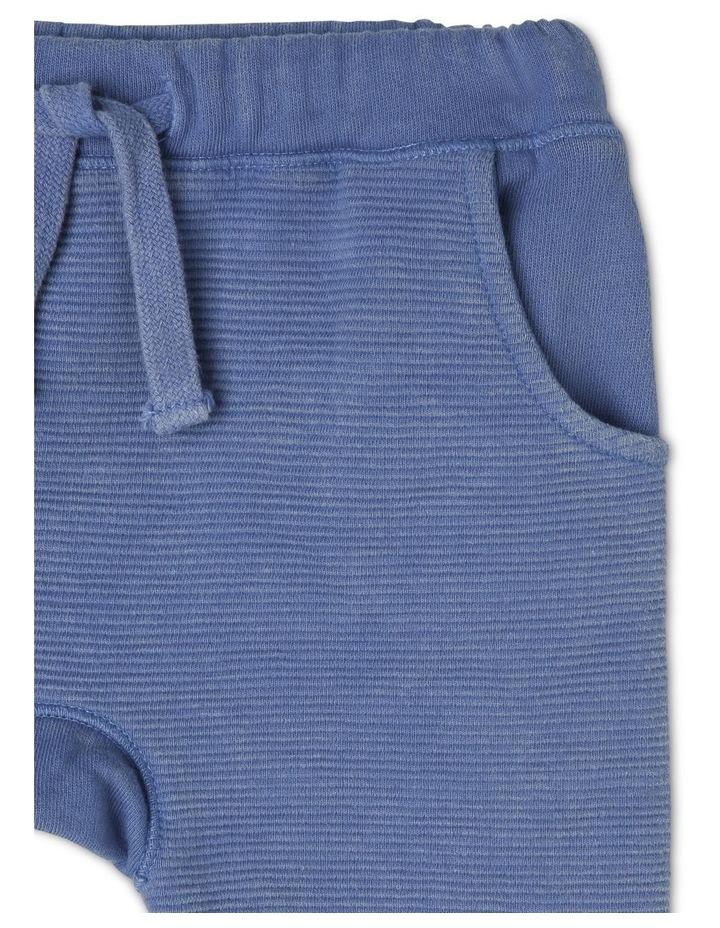 Boys Knit Ottoman Short With Kanga Pocket image 3