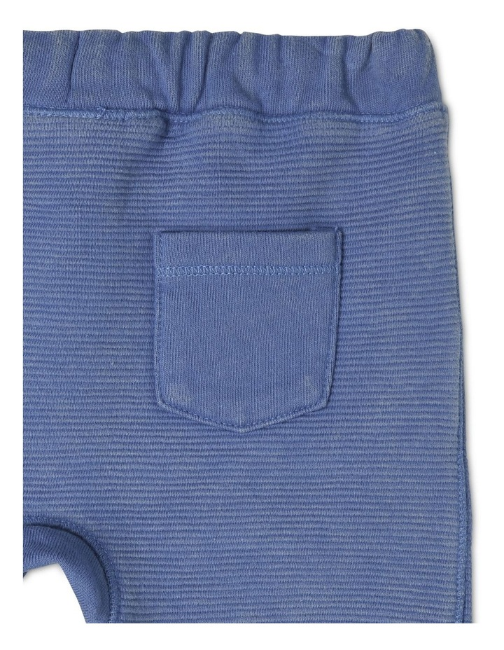 Boys Knit Ottoman Short With Kanga Pocket image 4