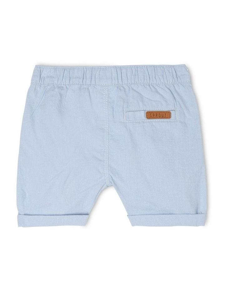Pull-On Yarn-Dyed Chino Shorts image 2