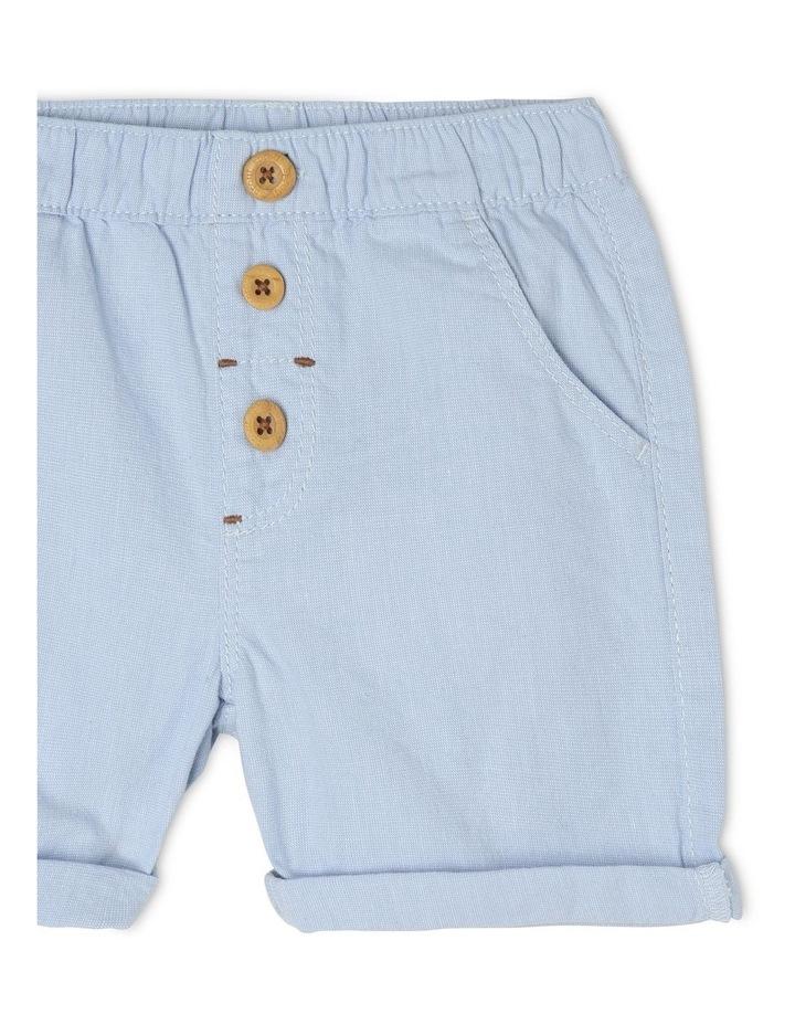 Pull-On Yarn-Dyed Chino Shorts image 3