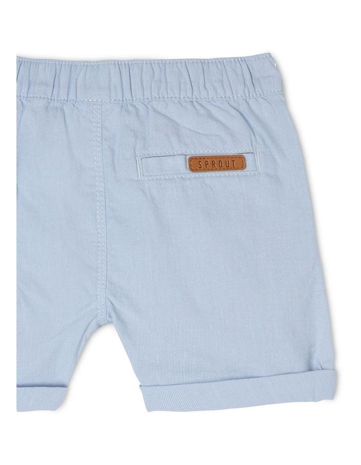 Pull-On Yarn-Dyed Chino Shorts image 4