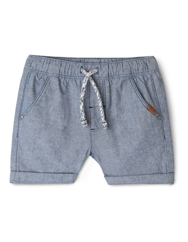 Essential Drawstring End On End Shorts image 1