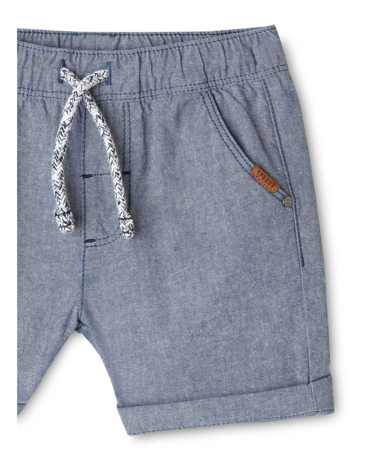 Essential Drawstring End On End Shorts image 3