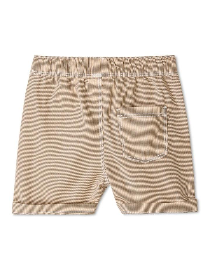 Essential Drawstring Yarn-Dye Shorts image 2