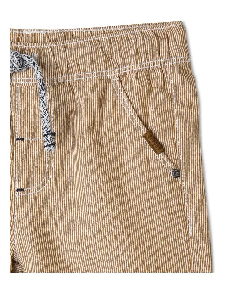 Essential Drawstring Yarn-Dye Shorts image 3